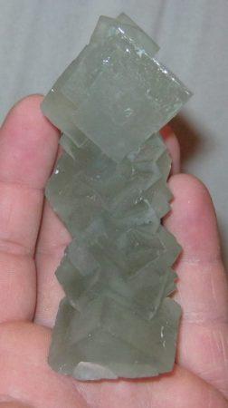 Csodálatosan szép zöld fluorit Kinából